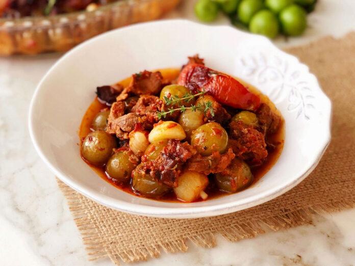 Nefis Yemek Tarifleri, Gaziantep Yemekleri | Gaziantep Erik Tava Tarifi