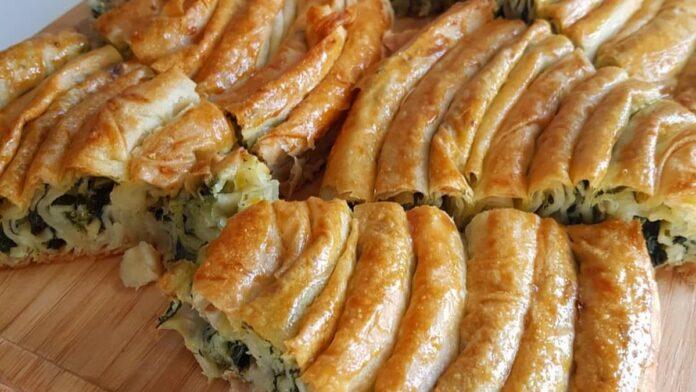ı ıspanaklı kol böreği | gaziantepetyemekleri.com