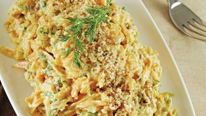 Havuçlu kabaklı salata | gaziantepetyemekleri.com