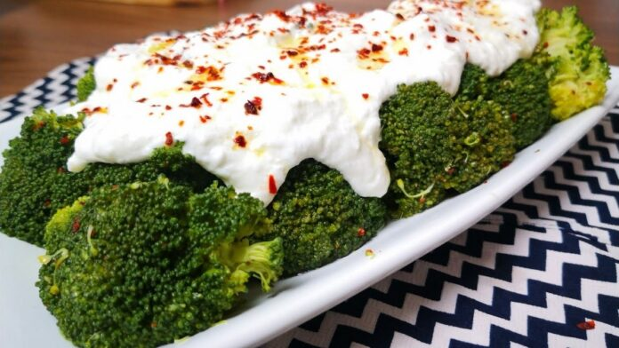 Yoğurtlu brokoli tarifi   gaziantepetyemekleri.com