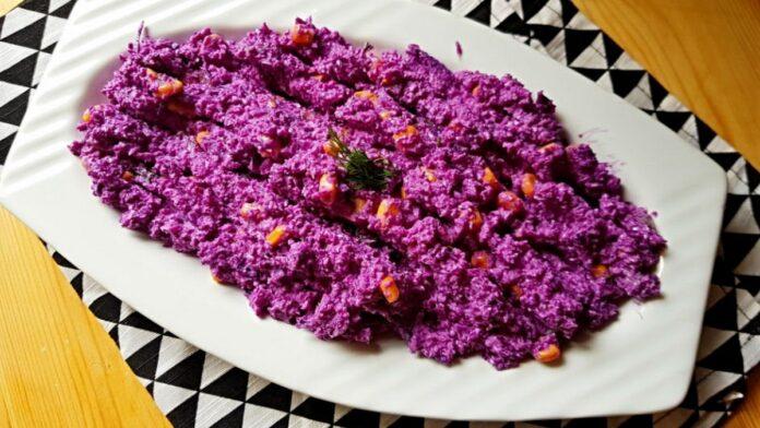 Karalahana salatası | gaziantepetyemekleri.com