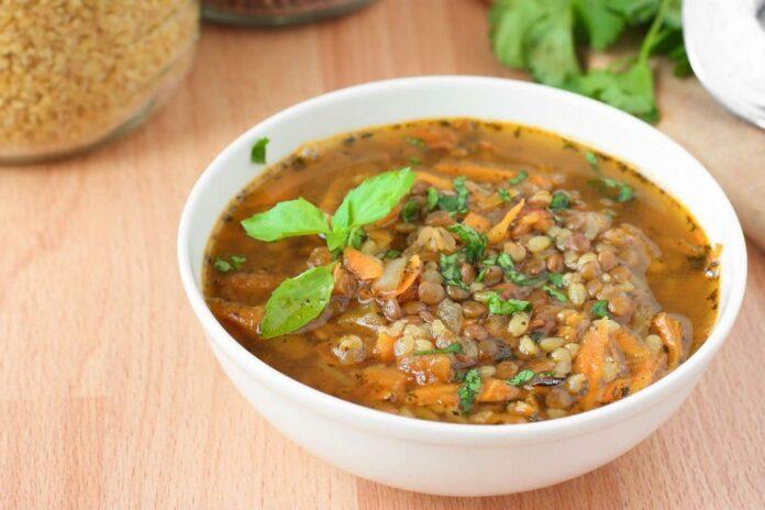 Bulgurlu Yeşil Mercimek Salatası | gaziantepetyemekleri.com