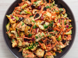 Kolay Yemek Tarifleri | Salata Tarifleri - Körili Tavuk Salatası Tarifi