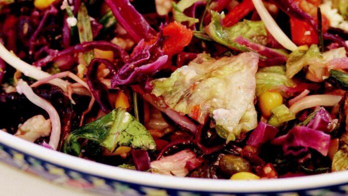 Bol Ekşili Salata Tarifi | gaziantepetyemekleri.com