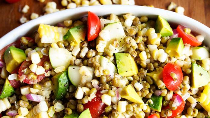 Maş Fasulye Salatası | Maş Fasulye Salata Tarifi