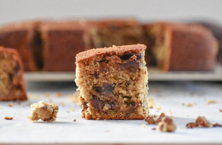 Tarçınlı Cevizli Pekmezli Kek Tarifi | Pratik Kek Tarifleri