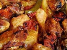 Fırında Tavuklu Patates Tarifi | Et Yemeği Tarifleri