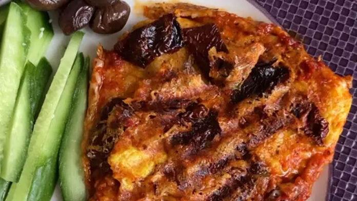 Yulaf Pizza Tarifi - Tost Makinesinde   Pizza Tarifleri